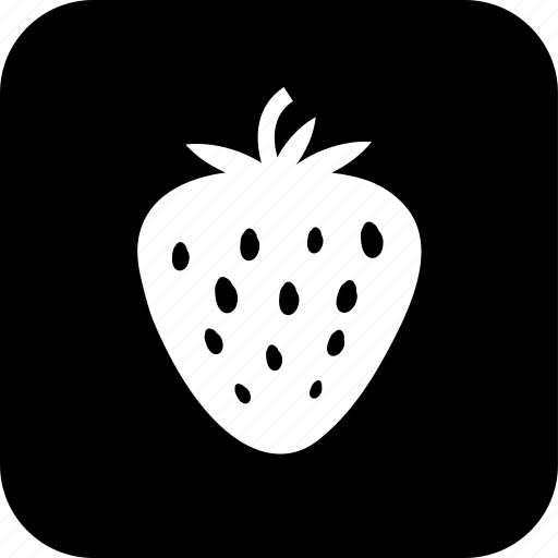 berry, cooking, food, meal, organic, ripe, strawberry icon