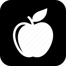 apple, cooking, education, food, fruit, meal, organic icon