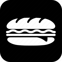 cold cuts, cooking, food, meal, meat, sandwich, subway sandwich icon