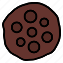 biscuit, chips, choco, cookie icon