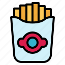 french, fries, potato, snack icon
