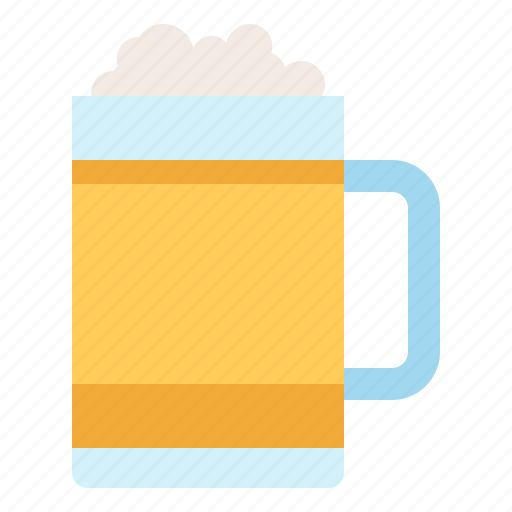 beer, beverage, drink, glass icon
