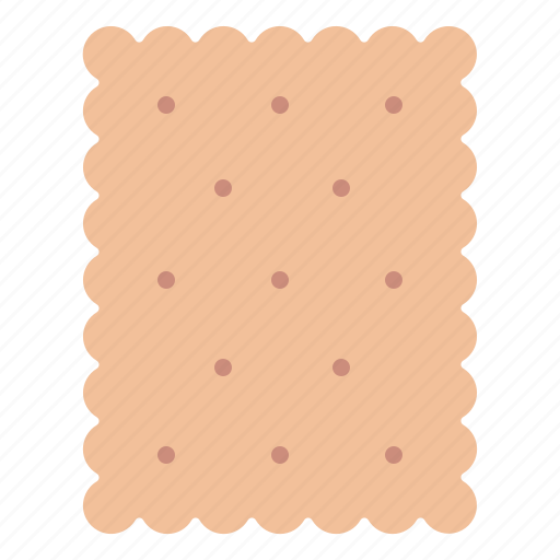 biscuit, cracker, snack, yummy icon