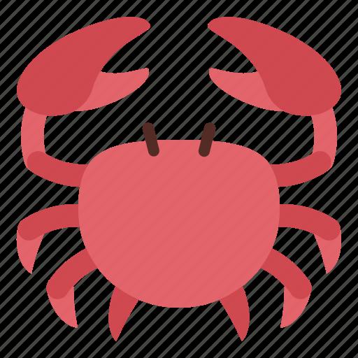 crab, food, seafood, shellfish icon