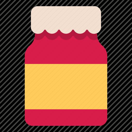jam, jar, sweet, yummy icon