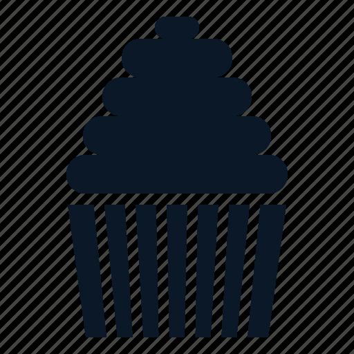 bakery, cake, cupcake, food icon