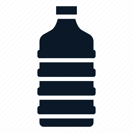 bottle, fresh, mineral, water icon
