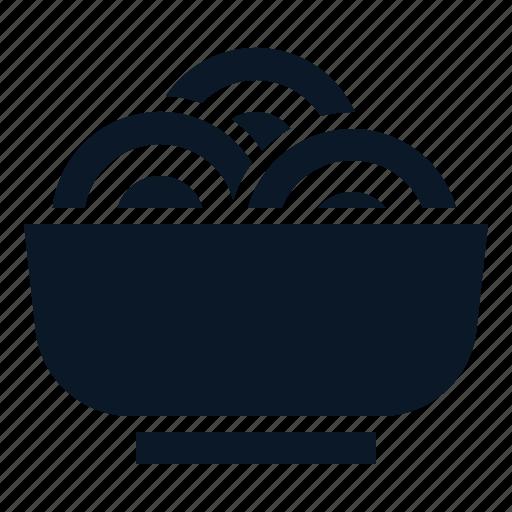 bowl, food, noddle, pasta icon