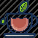 beverage, cup, drink, hot, kitchen, restaurant, tea icon