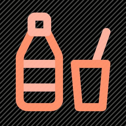 beverage, bottle, drink, glass, lemonade, soda, water icon