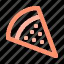 italian, pizza, slice