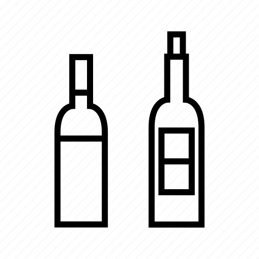 alcohol, beer, beverage, bottle, drinks, party, wine icon