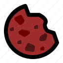 cookie, dessert, food, snack icon