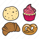 bakery, cake, cupcake, decoration, food, party, sweet icon