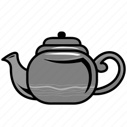 food, kitchen, pot, tea, water icon