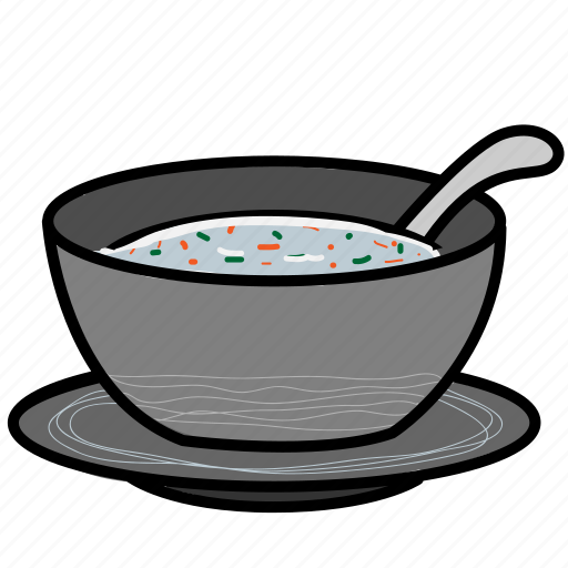cup, dinner, eat, fastfood, food, sausage, soup icon