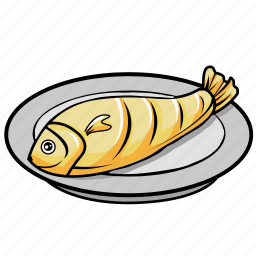 breakfast, fish, food, healthy, lunch icon