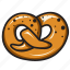bakery, bread, butter, cafe, decoration, tasty, treat icon