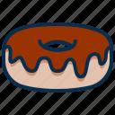 bakery, dessert, donut, doughnut, food, seets