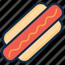 breakfast, burger, fastfood, food, ham, meal, snack icon