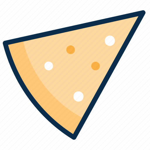food, meal, meals, piece, pizza slice, slice icon
