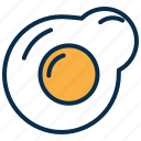 breakfast, egg, food, kitchen, meals, omlet icon