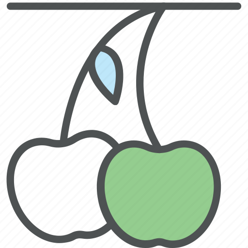 berry, cherry, diet, food, fruit, healthy food, stone fruit icon