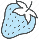 food, fruit, healthy diet, healthy food, organic, strawberry icon