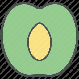 apple, food, fruit, healthy food, nutrition icon