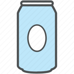 beverage, cola, cola can, drink, tin can icon