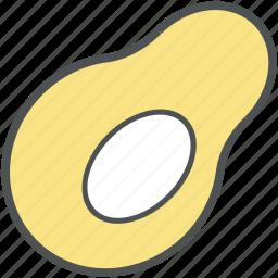avocado, food, fruit, healthy diet, nutrition, papaya icon