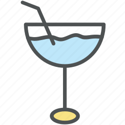alcohol, appetizer drink, beverage, cocktail, drink, glass icon