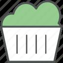 bakery item, cake, cupcake, fairy cake, muffin, spongy cake icon