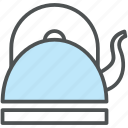 kettle, kitchen appliance, kitchen utensil, teakettle, teapot icon