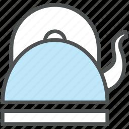 kettle, kitchen appliance, kitchen utensil, teakettle, teapot icon