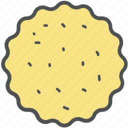bakery food, bakery item, biscuits, cookies, snack icon