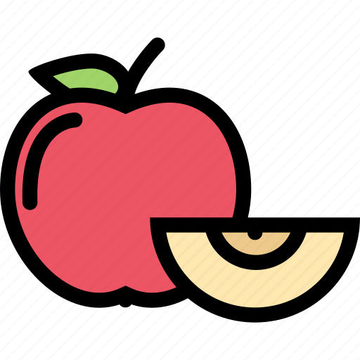apple, food, fruit, grocery store, meat, vegetable icon