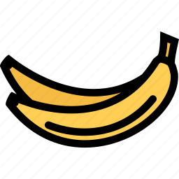 banana, food, fruit, grocery store, meat, vegetable icon