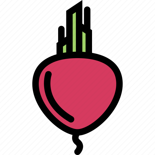 beet, food, fruit, grocery store, meat, vegetable icon