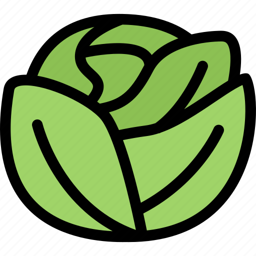 cabbage, food, fruit, grocery store, meat, vegetable icon