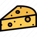 cheese, food, fruit, grocery store, meat, vegetable icon