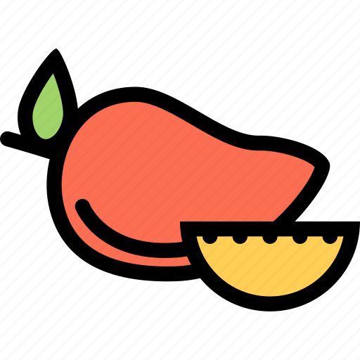 food, fruit, grocery store, mango, meat, vegetable icon