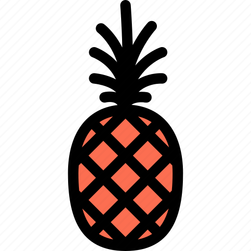 food, fruit, grocery store, meat, pineapple, vegetable icon