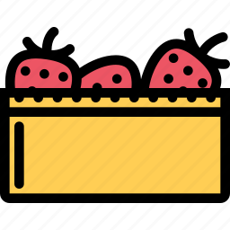 food, fruit, grocery store, meat, strawberry, vegetable icon