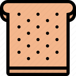 bread, food, fruit, grocery store, meat, toast, vegetable icon