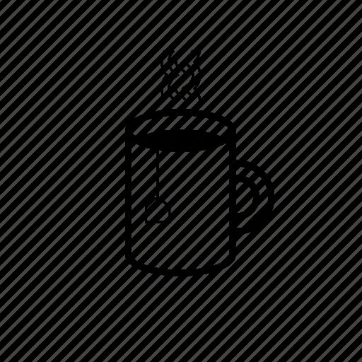 Coffee, food, hot drink, hot tea, tea, tea cup icon - Download on Iconfinder