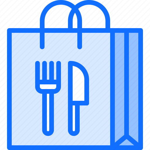 bag, delivery, eat, food, restaurant icon