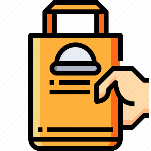 delivery, food, restaurant, service icon