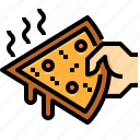 food, junk, pizza, restaurant icon