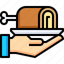 cooking, delivery, food, meal, restaurant icon